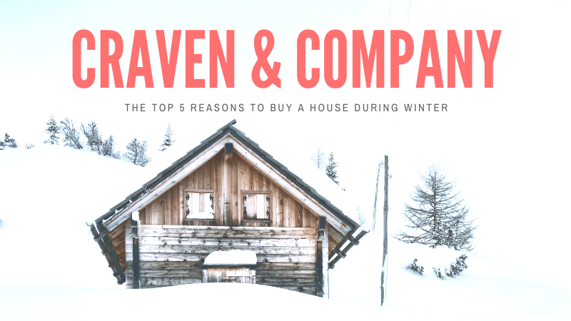 The top reasons to buy a house during winter