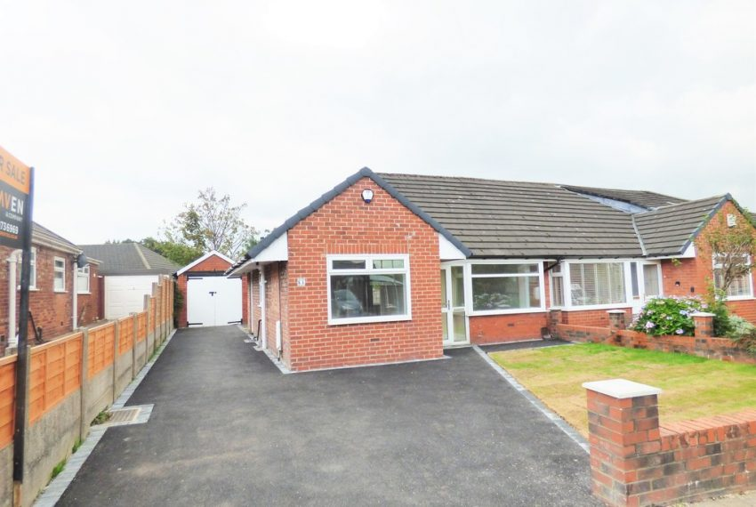 Semi-Detached Bungalow in Manchester